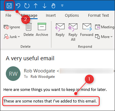 Thay đổi nội dung email