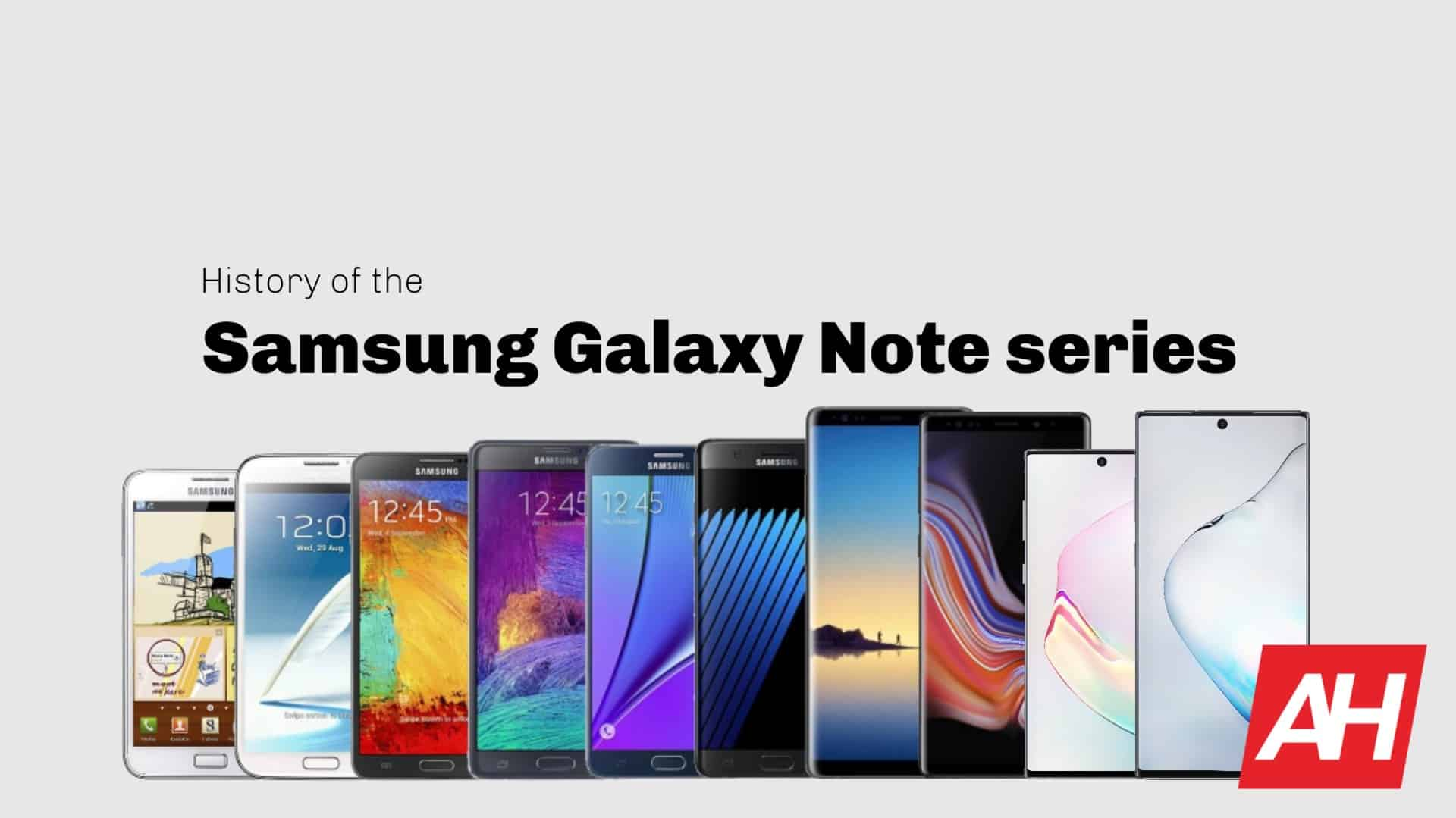 Samsung-Galaxy-Note-history-August-2019