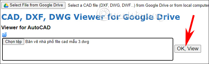CAD, DXF, DWG Viewer for Google Drive